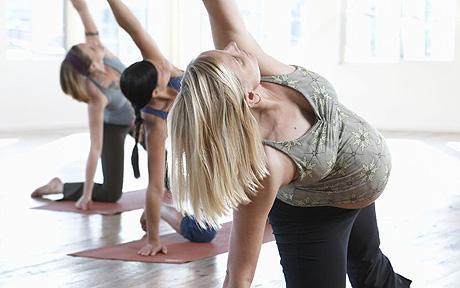 Cvičenie v tehotenstve - ilustračný obrázok