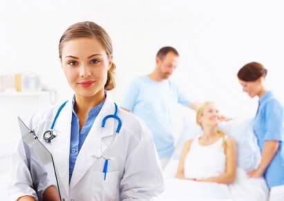 U lekára, ilustratívny obrázok