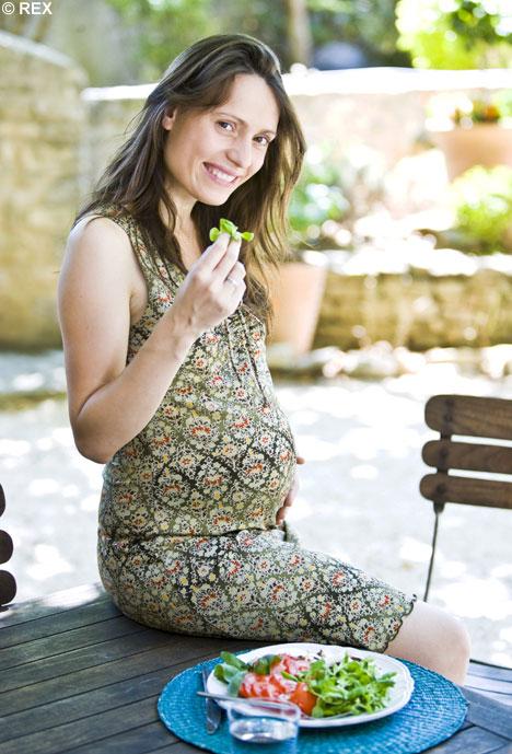 Stravovanie v tehotenstve - ilustratívny obrázok