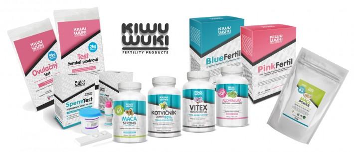 Produkty KIWU WUKI na podporu plodnosti